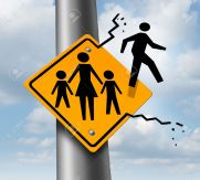 27299443-Absent-dad-or-deadbeat-father-concept-as-a-traffic-sign-with-a-mother-and-two-children-and-a-daddy-i-Stock-Photo